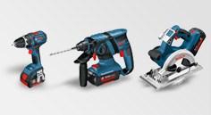 Аккумуляторные инструменты Bosch Professional