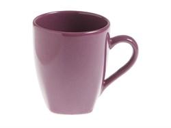 Кружка керамическая, 300 мл, серия Кайсери, фиолетовая, PERFECTO LINEA (19-009498)