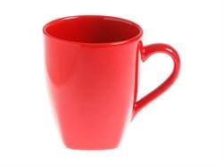 Кружка керамическая, 300 мл, серия Кайсери, красная, PERFECTO LINEA (19-009509)