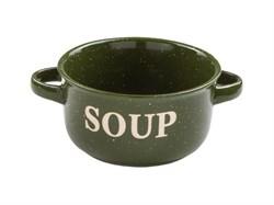 Миска_керамическая,_134_мм,_Для_супа,_зеленая,__PERFECTO_LINEA_30523301