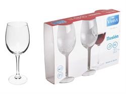 - Набор бокалов для вина, 3 шт., 250 мл, 182х71 мм, серия Ilusion, VINTIA (V050440)