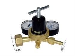 Редуктор углекислотный УР-6ДМ мини (давл. 10/0,6МПа; 1,05м3ч; ф9/6мм) ДОНМЕТ (011.000.01)