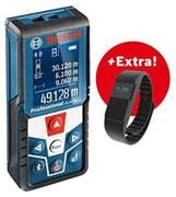 Bosch GLM 50 C + ФИТНЕС БРАСЛЕТ. АКЦИЯ! Профессиональный лазерный дальномер + фитнес браслет (06159940LS)
