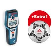 Bosch GMS 120 + футбольный мяч ADIDAS Детектор металла, проводки. [06159940LP]