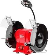 Станок точильный WORTEX BG 2040-1 L в кор. (400 Вт, круг 200х20х16 мм, подсветка) (BG20401L0023)