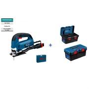 Лобзиковая пила Bosch GST 90 BE в чемодане+ящик для инструментов ToolBox Pro