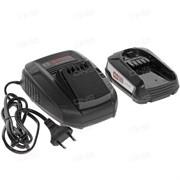 Комплект аккумулятор 18.0 В PBA18 V 1 шт. + зарядное устройство AL1830 (Набор PBA 18 V 2,5Ah 1 шт. + AL1830 CV) (BOSCH) (1600A00K1P)
