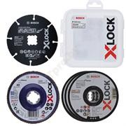 Набор кругов X-LOCK 125 мм (5 шт) BOSCH