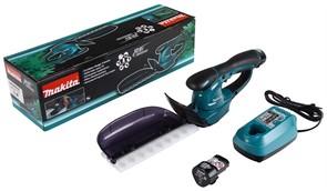 Аккум. кусторез MAKITA UH 200 DWE (12 V,2 аккумулятора 1.3 А/ч,вставной аккумулятор, длина ножа 200 мм)