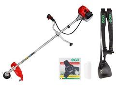 Мотокоса ECO GTP-145R  с ножом и головкой (1.45 кВт, 2.0 л.с., 43.0 см3, нож 255х25.4 мм, 3 зуб., ремень двухлямочный вес 7.5 кг)