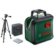 BOSCH Advanced Level 360 set Лазерный нивелир с ЗЕЛЕНЫМ лучем+штатив 150 см (плоскость на 360 градусов, 24м)