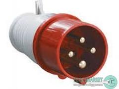 - Розетка силовая 16А 380В 5 pin 3P+PE+N IP44 IEK (16А 380В 3 pin 2P+PE IP44) (255678)