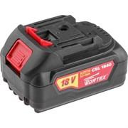 Аккумулятор WORTEX CBL 1840 18.0 В, 4.0 А/ч, Li-Ion ALL1 (18.0 В, 4.0 А/ч, индикатор заряда, обрезиненный корпус) (CBL18400029)