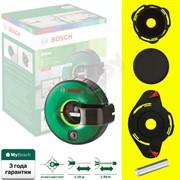 BOSCH Atino Нивелир лазерный со встроенной рулеткой для ручного выравнивания (рабочий диапазон рулетки 1.5 м,  +/-0,3 мм/м, 1 гелевая подушка)