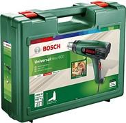 Термовоздуходувка BOSCH UniversalHeat 600 в чемодане+ 3 насадки(1800 Вт, 3 скор., 50,300,600 °С, ступенч. рег.) (06032A6102)