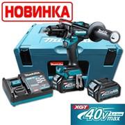 MAKITA HP001GD201 Аккум. ударный шуруповерт в чемодане Makpac 3 (XGT BL 40В,2 аккумулятора 2,5Ач, зарядноеDC40RA,140/68Нм, AFT, XPT) НОВИНКА