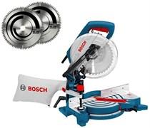 Bosch Торцовочные пилы GCM 10 J АКЦИЯ!!! + 2 диска по алюминию 0615990cx6