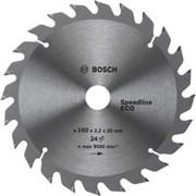 Bosch Диск для циркулярных ручных пил Spedline Eco 190-30(24) 24 2608641780