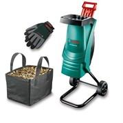 Измельчитель Bosch Rapid AXT Rapid 2200 АКЦИЯ + перчатки + сумка для садового мусора [0600853602]
