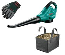 Садовый пылесос Bosch ALS 30 + Перчатки + Сумка  [06008A1101]