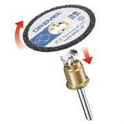 DREMEL® EZ SpeedClic: отрезные круги для пластмассы 5-Pack.  [2615S476JB]