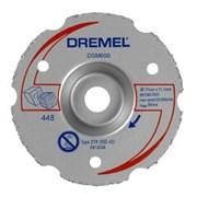Многофункциональный твердосплавный отрезной круг DREMEL® DSM20 для резки заподлицо [2615S600JA]