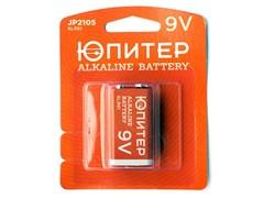 Батарейка_6LR61_9V_alkaline_1шт._ЮПИТЕР_крона_JP2105