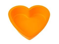 Форма_для_выпечки,_силиконовая,_сердце,_14_х_13.5_х_3.8_см,_оранжевая,_PERFECTO_LINEA