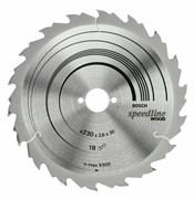 Bosch Пильный диск Speedline Wood 150 x 16 x 2,2 mm, 9 2608640808