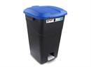 Контейнер_для_мусора_пластик._60л_с_педалью_синяя_крышка_TAYG_431029